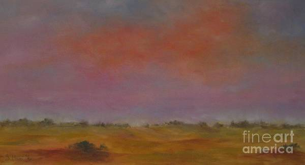 Wall Art - Painting - Evening Sky by Sabina Haas