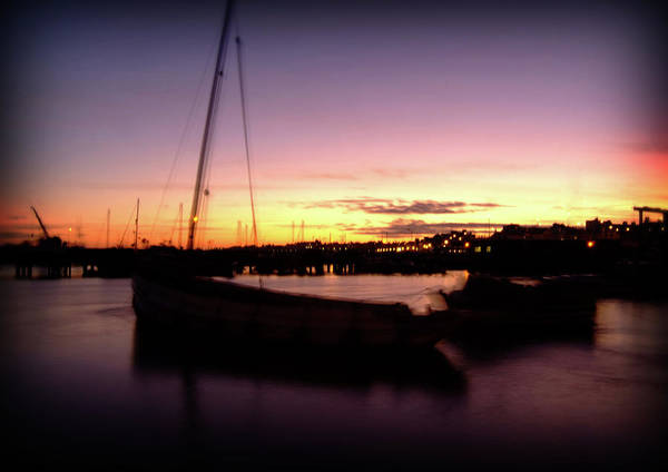 Photograph - Evening Sun On Harbour by Cliff Norton