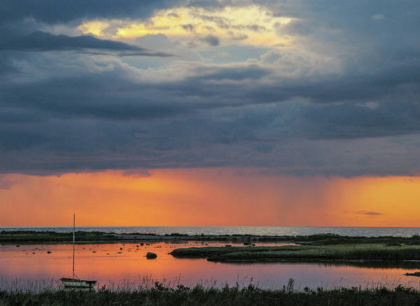 Photograph - Evening Sunset Mood by Kim Lessel