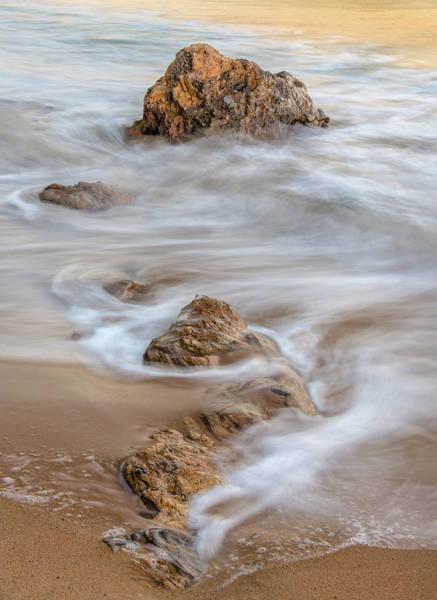 Mars Photograph - Evening Surf by Joseph Smith