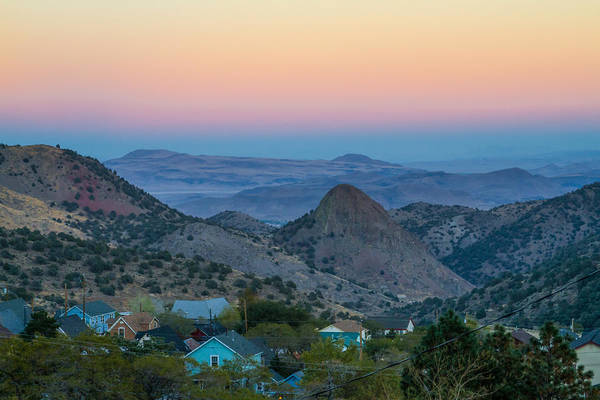 Photograph - Evening View From Virginia City by Bonnie Follett