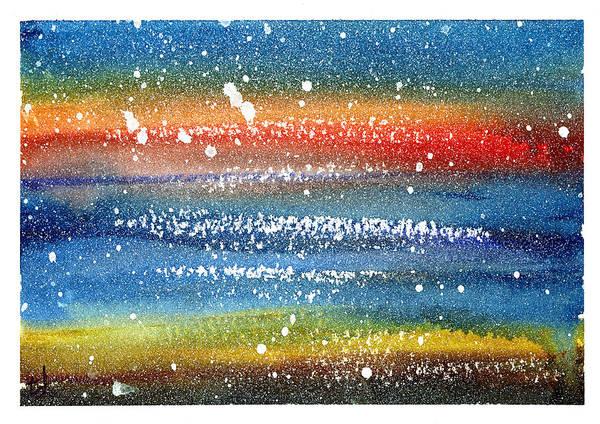 Space Mixed Media - Event Horizon by Tonya Doughty