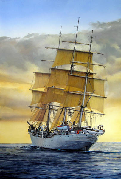 Maritime Painting - Eventide by Tim Johnson