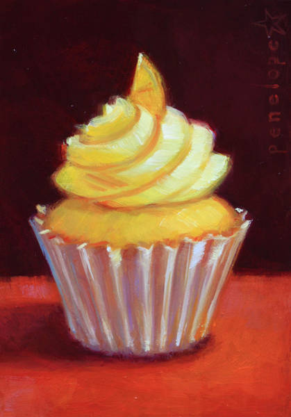 Whipped Cream Painting - Ever After IIi by Penelope Moore