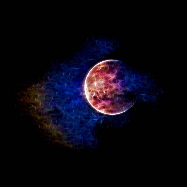 Photograph - Ever Changing Moon Color Waves by Denise Beverly