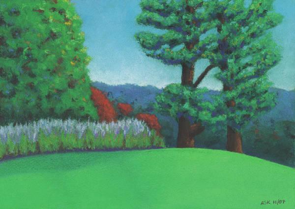 Pastel - Ever Green by Anne Katzeff