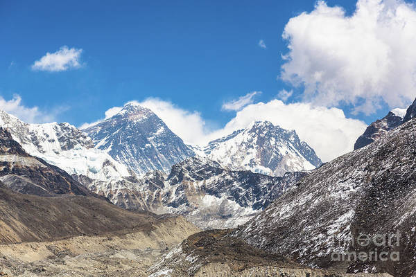 Photograph - Everest View From Gokyo Valley by Didier Marti