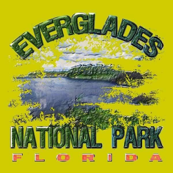Wall Art - Digital Art - Everglades National Park by David G Paul