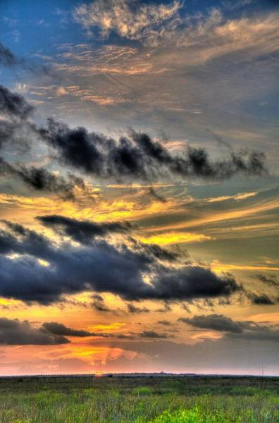 Wall Art - Photograph - Everglades Sunset - Farewell 2009 by William Wetmore