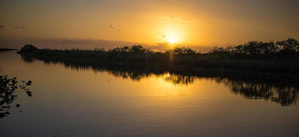 Photograph - Everglades Sunset by Dart and Suze Humeston