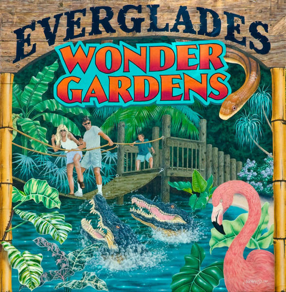 Photograph - Everglades Wonder Gardens In Old Bonita Springs by Ginger Wakem