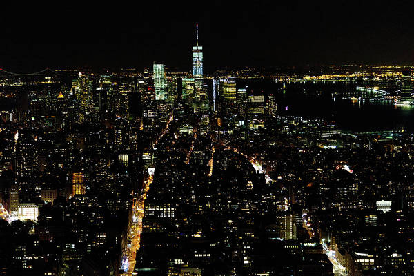 Photograph - Everglow Of New York  by Jaquita Watters
