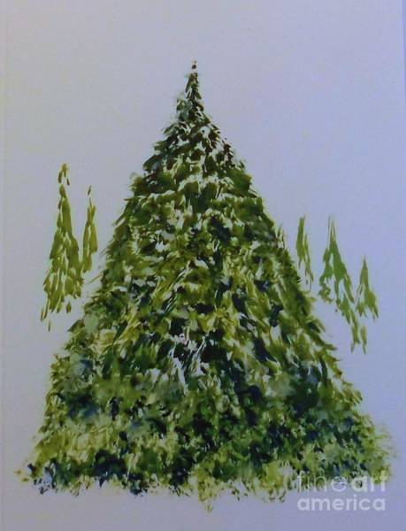Painting - Evergreen by David Neace