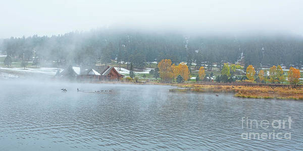 Photograph - Evergreen Lake by Jim Garrison