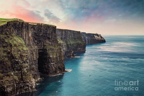 Moher Photograph - Everlasting by Evelina Kremsdorf