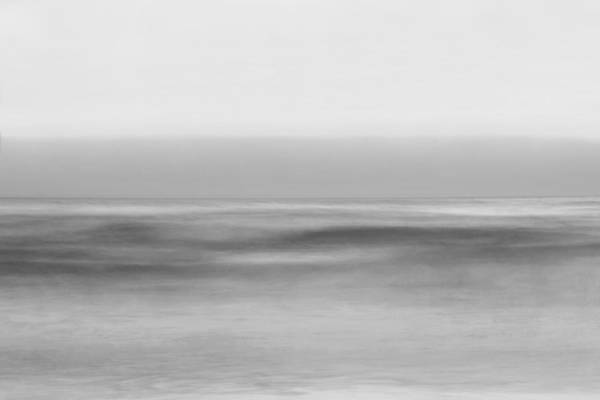 Black And White Abstract Photograph - Every Breaking Wave by Az Jackson