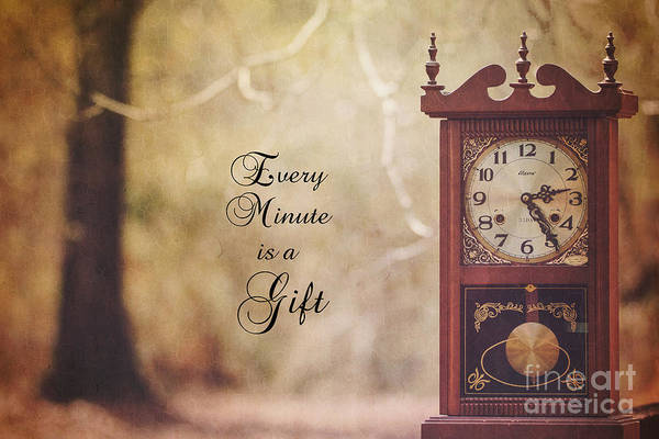Photograph - Every Minute Is A Gift by James Hennis