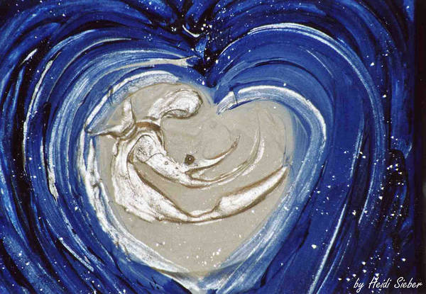 Painting - Every Soul Is A Pearl Of Love by Heidi Sieber