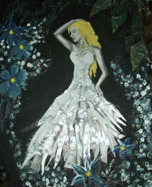 Paper Dress Mixed Media - Every Woman - Aphrodite by Emily Perry