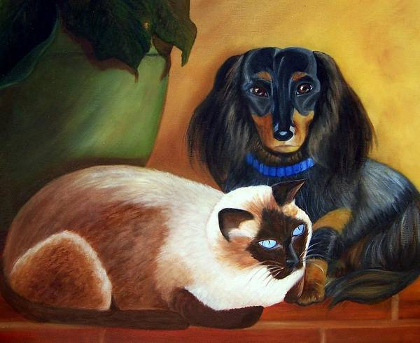 Painting - Everybody Needs Somebody by Susan Dehlinger
