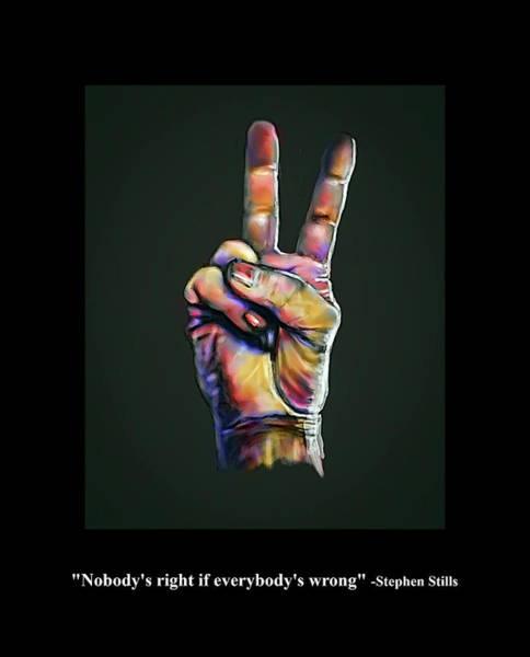 Digital Art - Everybody's Wrong by Rick Mosher