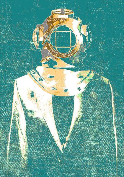 Digital Art - Everyday Diver by IamLoudness Studio