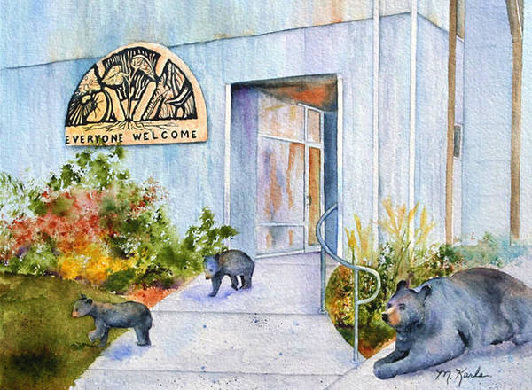 Painting - Everyone Welcome by Marsha Karle