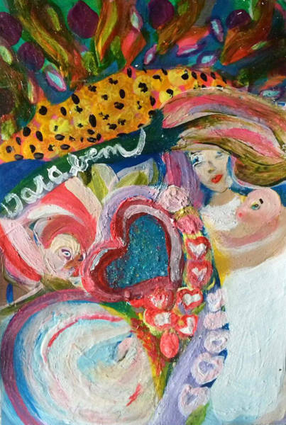 Painting - Everything by Darabem Artist