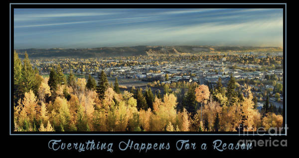 Photograph - Everything Happens For A Reason by Vivian Martin