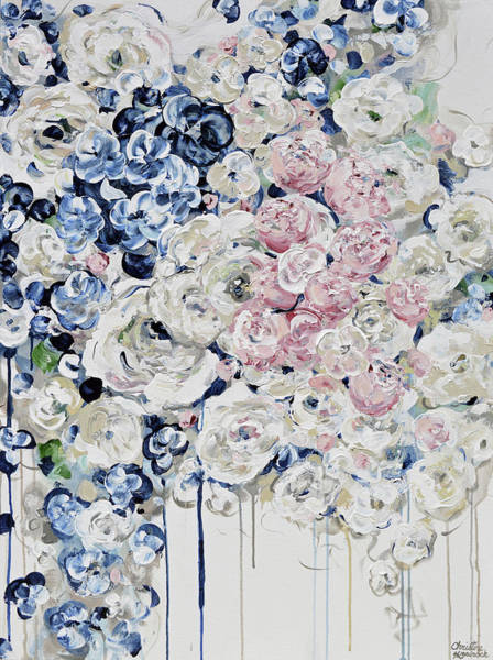 Wall Art - Painting - Everything Is Coming Up Roses by Christine Bell