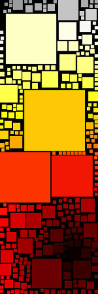 Red Brick Digital Art - Everywhere Square 32 by Chris Butler