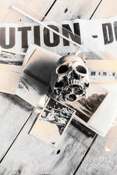 Lab Photograph - Evidence Of Old Crimes by Jorgo Photography - Wall Art Gallery