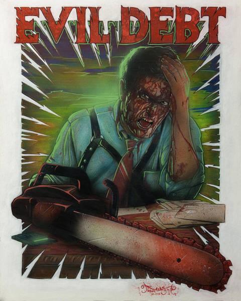 Evil Debt Art Print