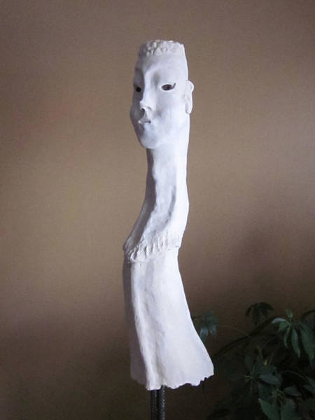 Fired Clay Wall Art - Sculpture - Evolution by Andre Ferron