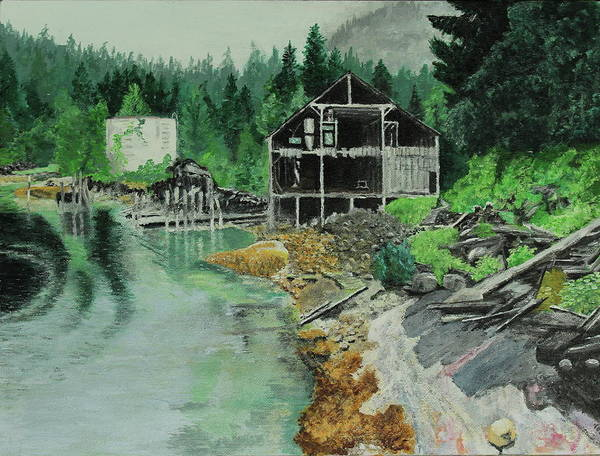 Painting - Ex-cannery by Thom Barker