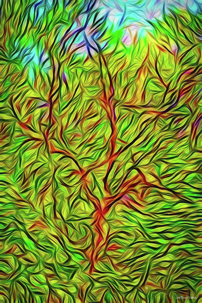 Digital Art - Exaltation Of Springtime by Joel Bruce Wallach