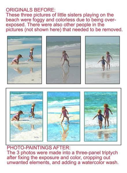 Photograph - Example 6 - Custom Photo Painting by Susan Molnar