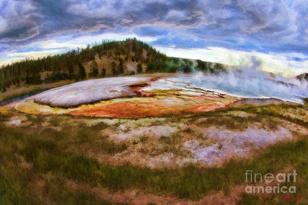 Photograph - Exceisior Geyser Yellowstone by Blake Richards