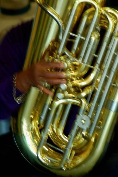 Digital Art - Excelsior Band Tuba by Michael Thomas