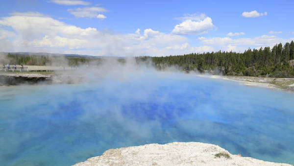 Photograph - Excelsior Geyser Crater by Dan Sproul