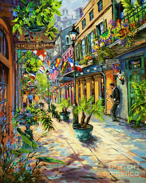 Painting - Exchange Alley by Dianne Parks