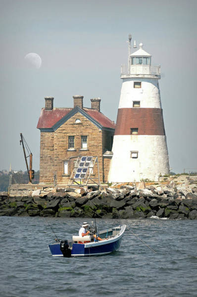 Wall Art - Photograph - Execution Rocks Lighthouse by Diana Angstadt