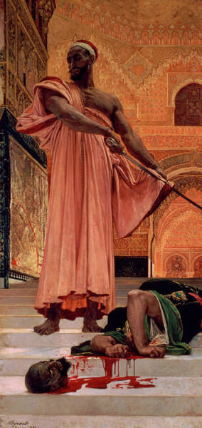 Justice Painting - Execution Without Trial Under The Moorish Kings In Granada by Henri Regnault