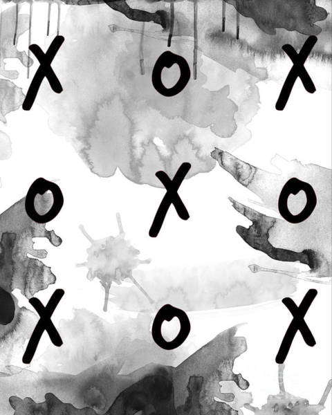 Xxx Painting - Exes And Ohs by D Renee Wilson
