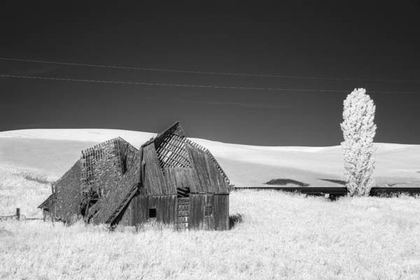 Photograph - Exhausted Barn by Jon Glaser