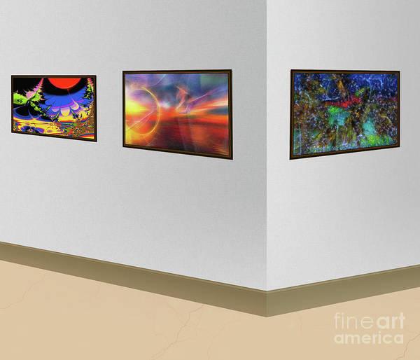 Wall Art - Photograph - Exhibition Of Abstract Art by Viktor Birkus