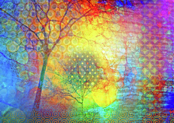 Cheery Digital Art - Existing In Colour by Tara Turner