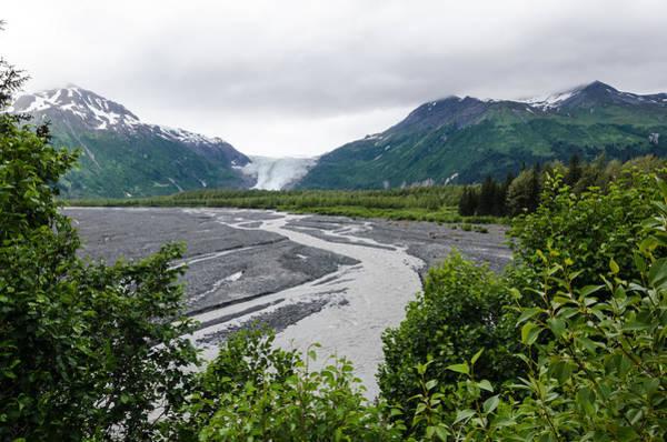 Photograph - Exit Glacier by Margaret Pitcher