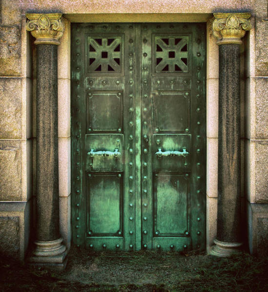 Crypt Photograph - No Exit  by Jessica Jenney