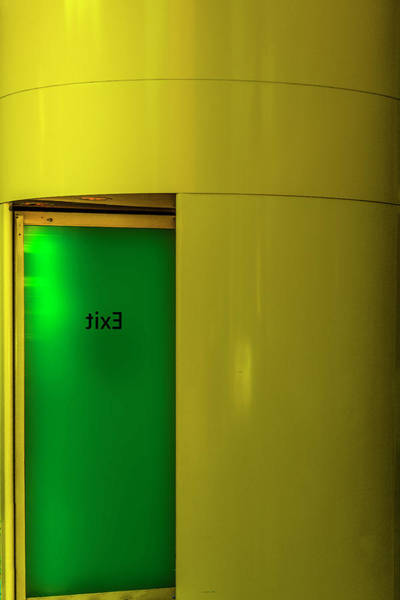 Photograph - Exit by Paul Wear